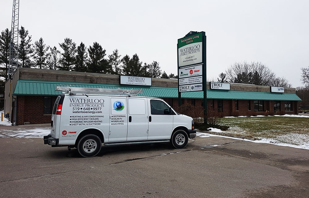 Waterloo Energy Products - HVAC  - Renewable Energy Contractor - Geo Thermal